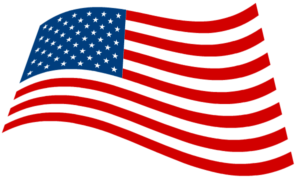 free black and white american flag clip art - photo #36
