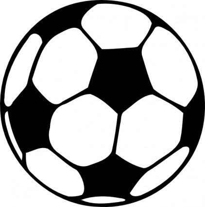 Soccer Ball Clipart Black And White | Clipart Panda - Free ...