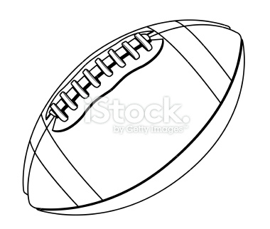 Football black and white