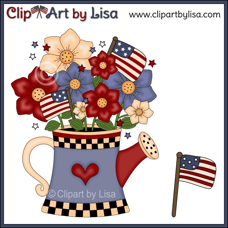 Flowers Americana Clipart | Clipart Panda - Free Clipart ...