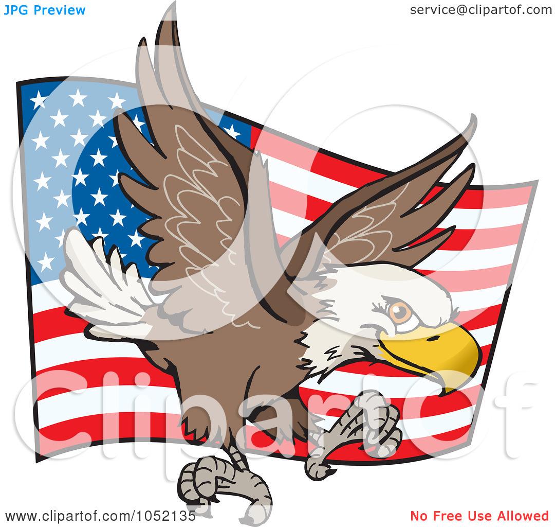 clip art american flag eagle - photo #19