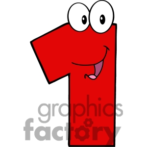 Clip Art Number 1 Clip Art number one clipart panda free images