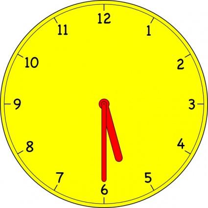 clip art 9 00 analog clock clipart