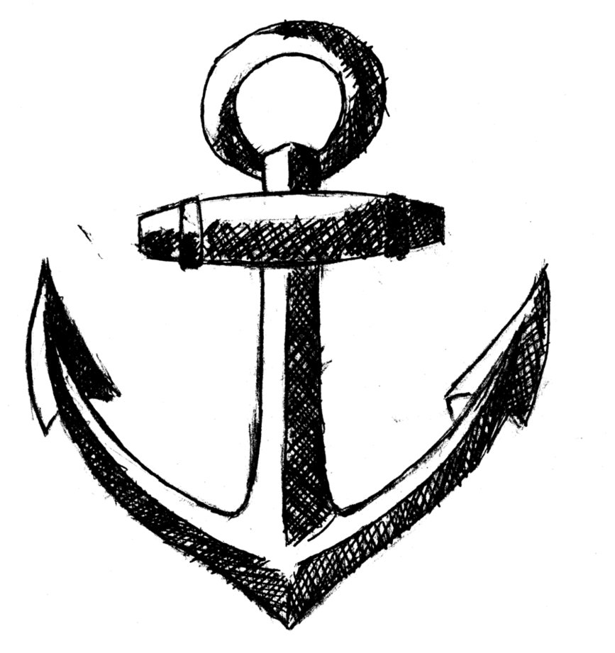 Anchor clipart black and white clipart panda free clipart images - Black and wait ...