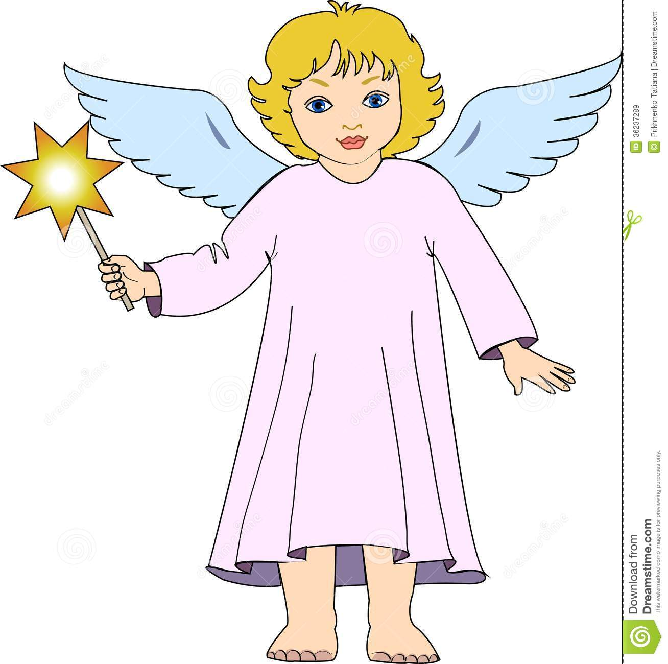 Angel Clipart Free Black And White | Clipart Panda - Free Clipart ...