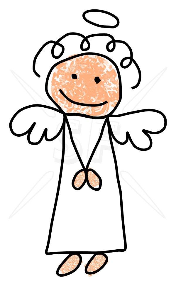 angel clip clipart stick praying figures guardian printable cliparts prayer clipartpanda religious drawing cartoon christmas lds depot panda library clipartix