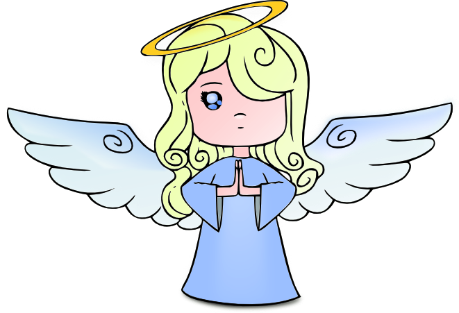 Angel printable. Clip art free clipart