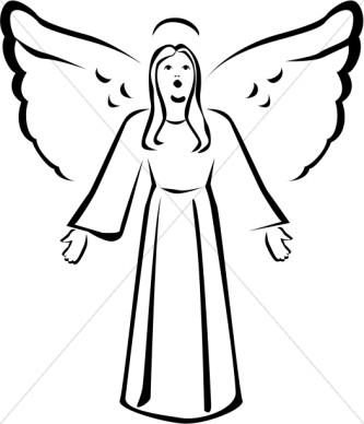 angel clip art free printable clipart panda free clipart images rh clipartpanda com free clipart of angels singing free clipart of angel wings