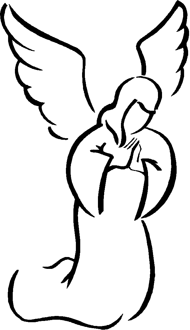 Line Art Angel : Angel clipart panda free images