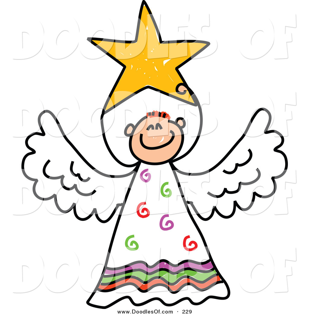 Elegant Angel Clipart