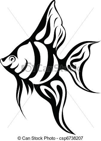 Angel Fish Clipart