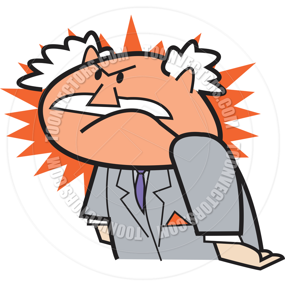 Angry Person Stock Vectors, Clipart and Illustrations