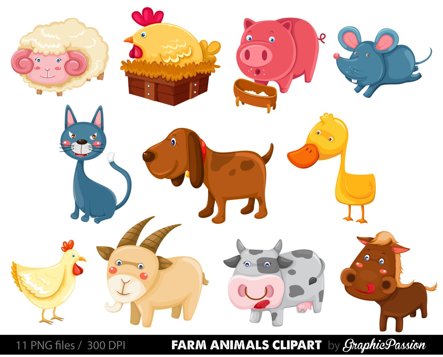 animals clipart for kids - photo #14