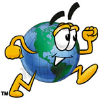 Image result for free globe clipart cartoon