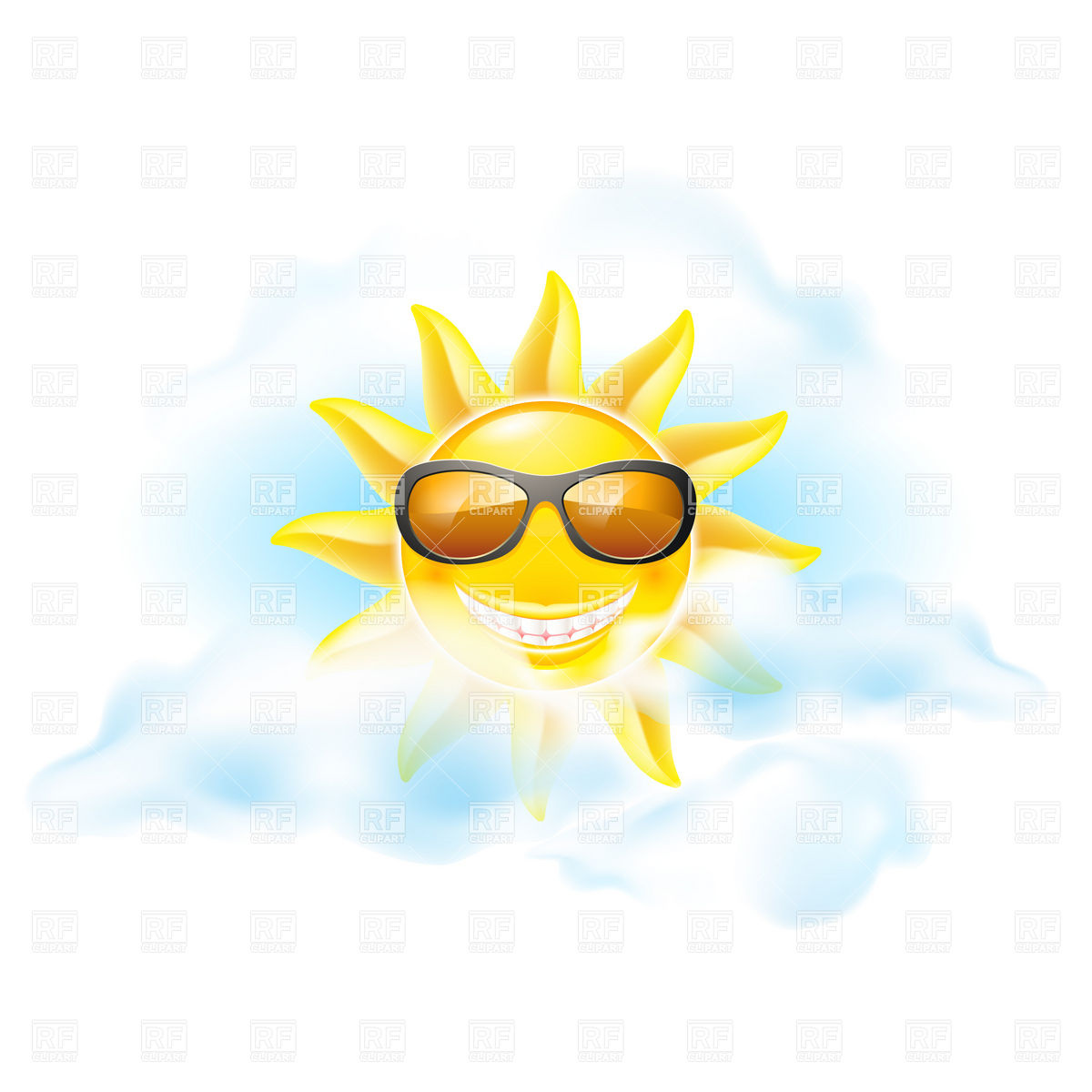 Free Sun With Sunglasses Clipart | www.tapdance.org
