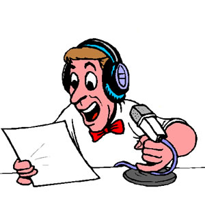 Image result for announcer