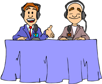 announcer clipart clipart panda free clipart images rh clipartpanda com Broadcast Journalism Clip Art Journalism Symbol