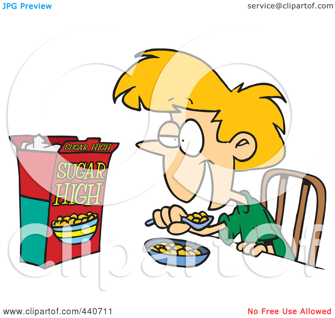 Happy Kid Eating Clipart | Clipart Panda - Free Clipart Images