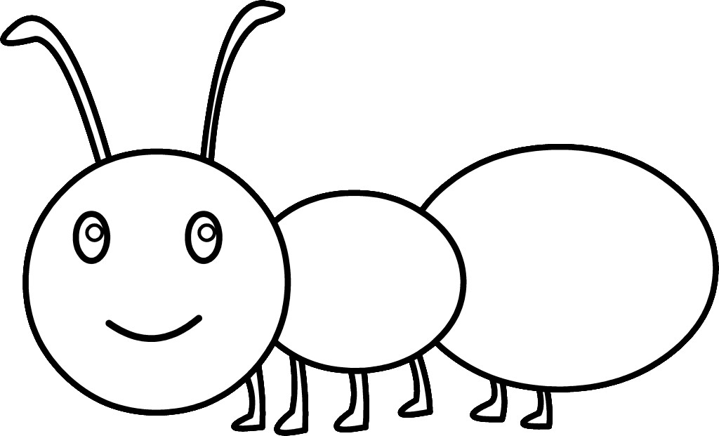 Ant Clipart Black And ...