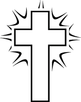 black and white cross clipart rh worldartsme com clipart of crosses clipart of crossbow