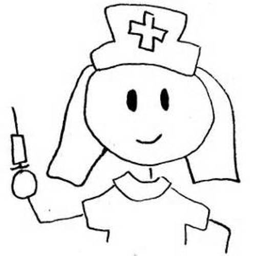pediatrician clipart black and white christmas