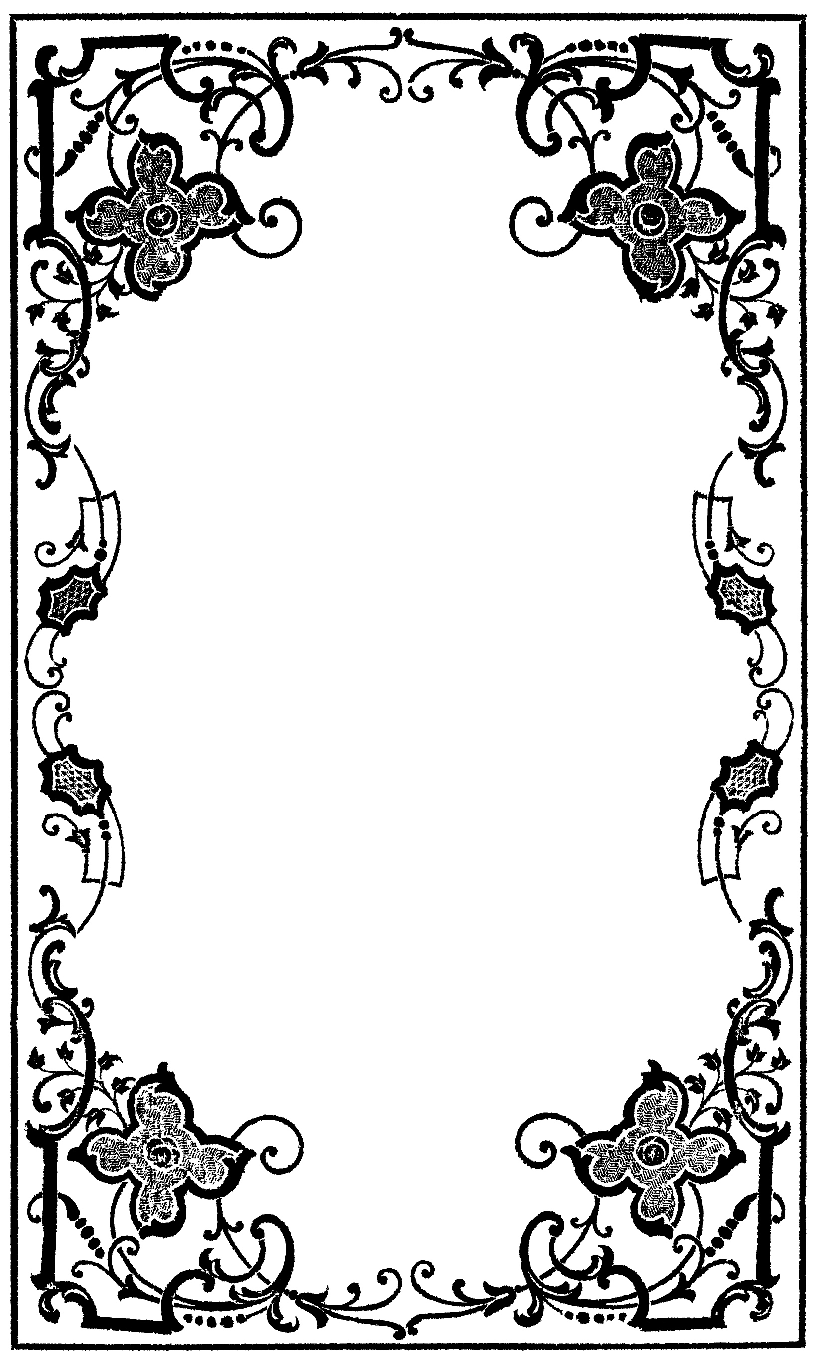 Victorian Clip Art Border Clipart Panda Free Clipart Images with Clip Art Victorian Borders