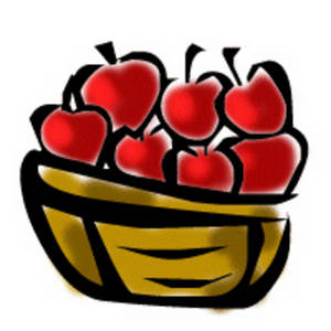 Basket Of Apples Clipart apple 20basket 20clipart