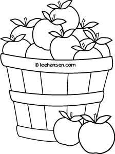 Apple Basket Clipart