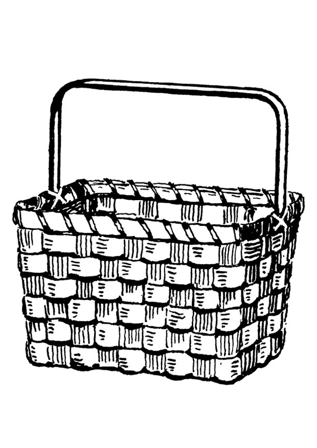 free bushel basket coloring pages - photo#24
