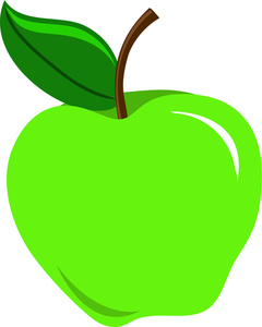 Apple green. Clipart panda free images