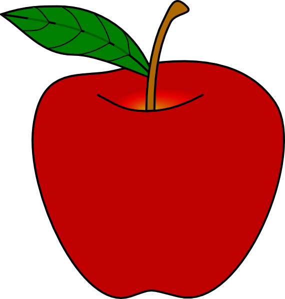 Free Red Apple Clipart Apple Clipart
