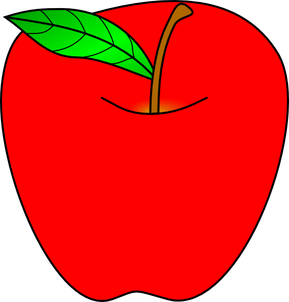red apple clip art clipart panda free clipart images rh clipartpanda com red apple clipart free big red apple clipart