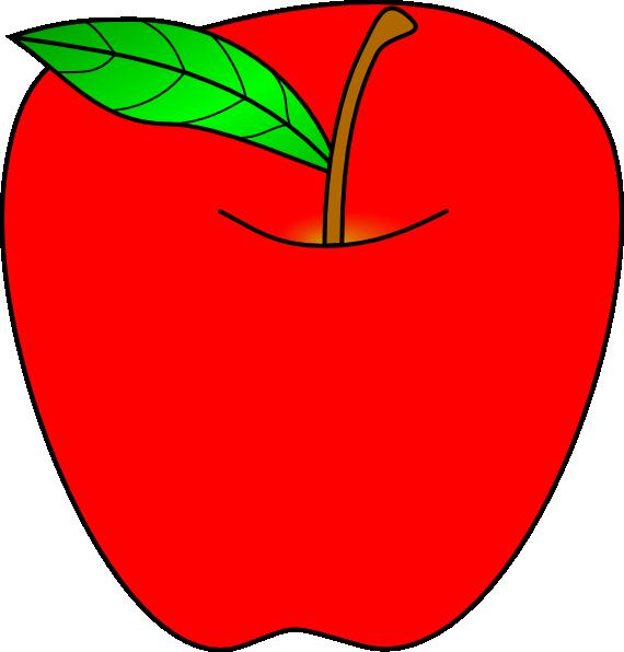red apple clip art clipart panda free clipart images rh clipartpanda com red apple clipart free red apple clip art free