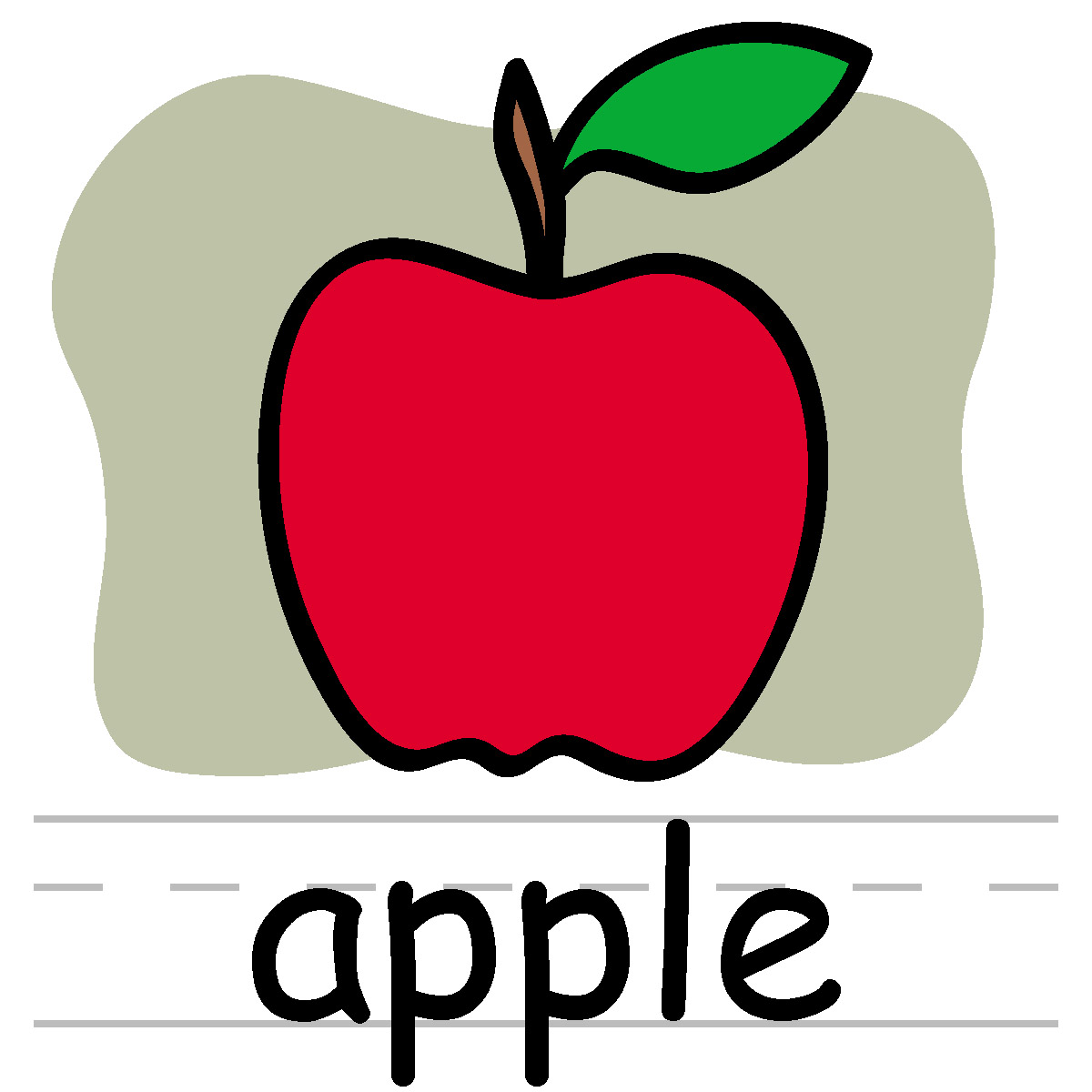 Apple Border Clipart | Clipart Panda - Free Clipart Images