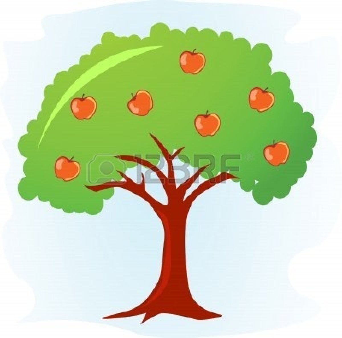 Apple Tree Illustration | Clipart Panda - Free Clipart Images
