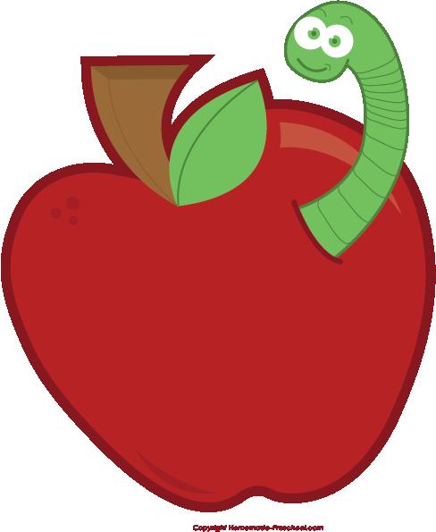 apple worm clip art apple worm png