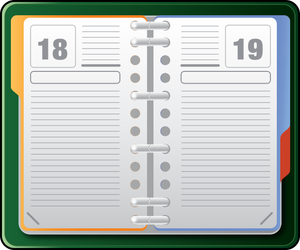 appointment book clipart panda free clipart images
