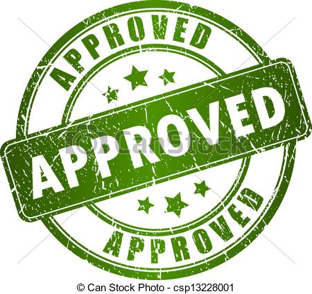 Approval clipart clipart panda free clipart images for The motors approved by the motors
