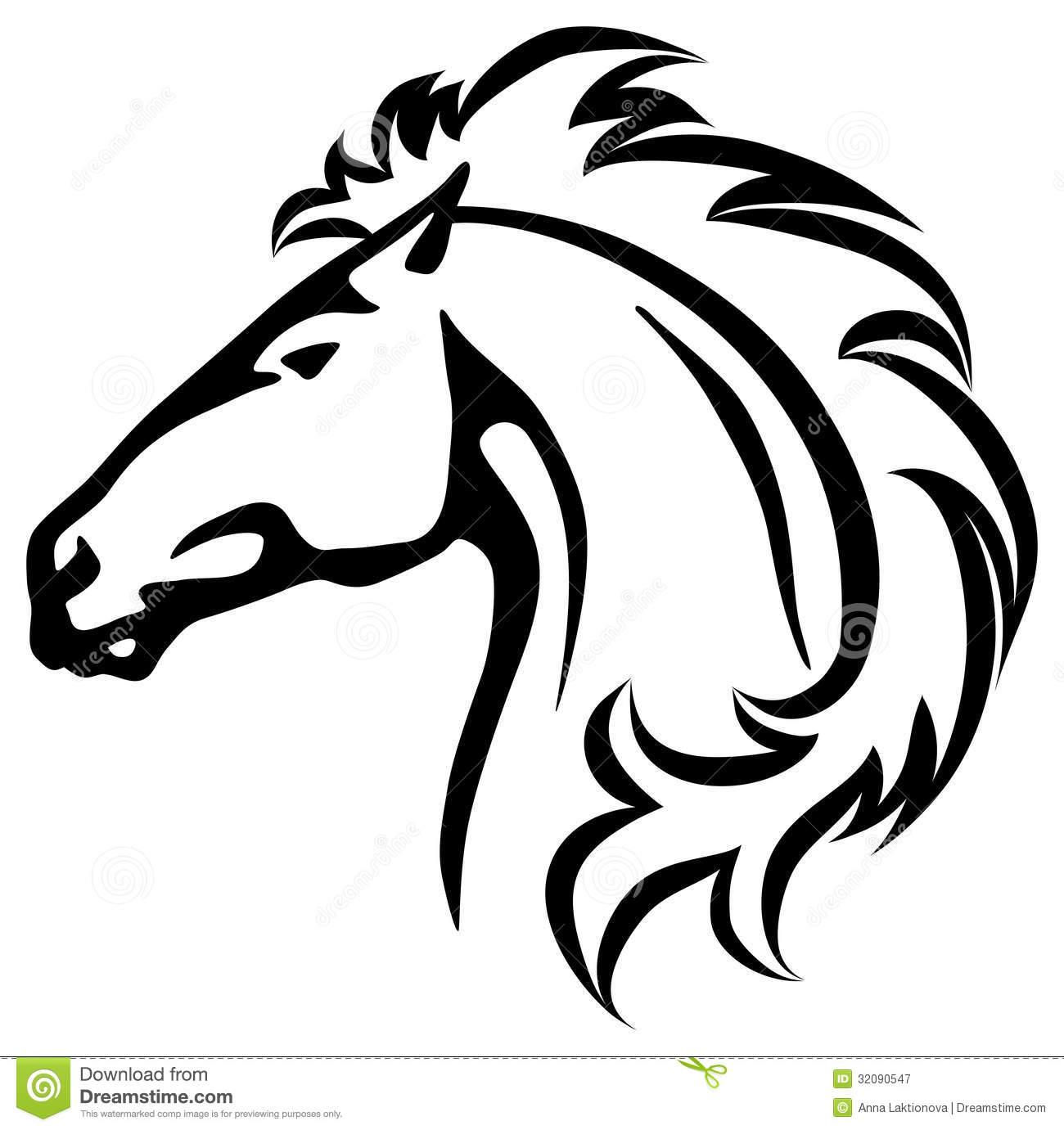 imagens colorir de cavalos