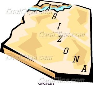 Arizona State Map Free.Arizona State Map Clipart Panda Free Clipart Images
