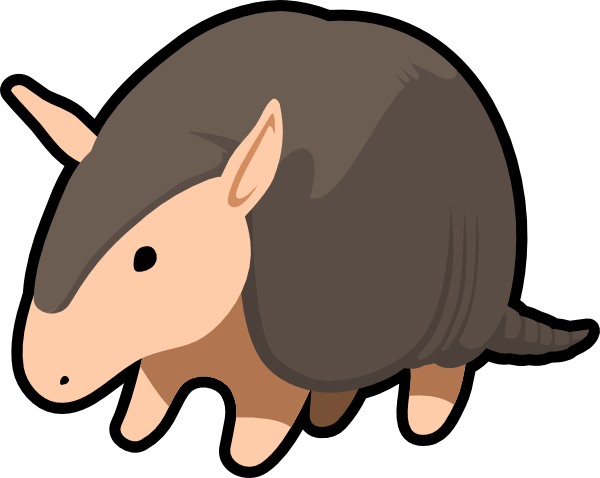 Armadillo  Clipart Panda  Free Clipart Images