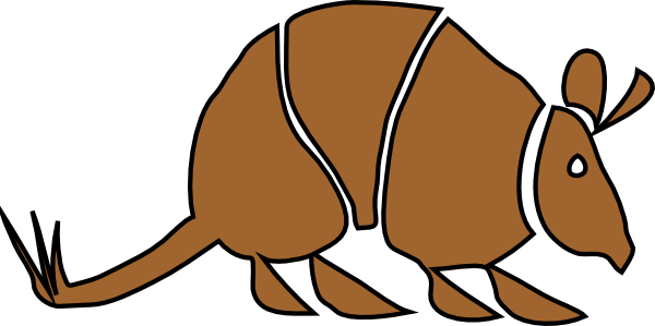 Armadillo Clipart | Clipart Panda - Free Clipart Images