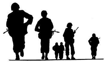 silhouette free army clipart clipart panda free clipart images rh clipartpanda com us army soldier clipart free army tank clip art free