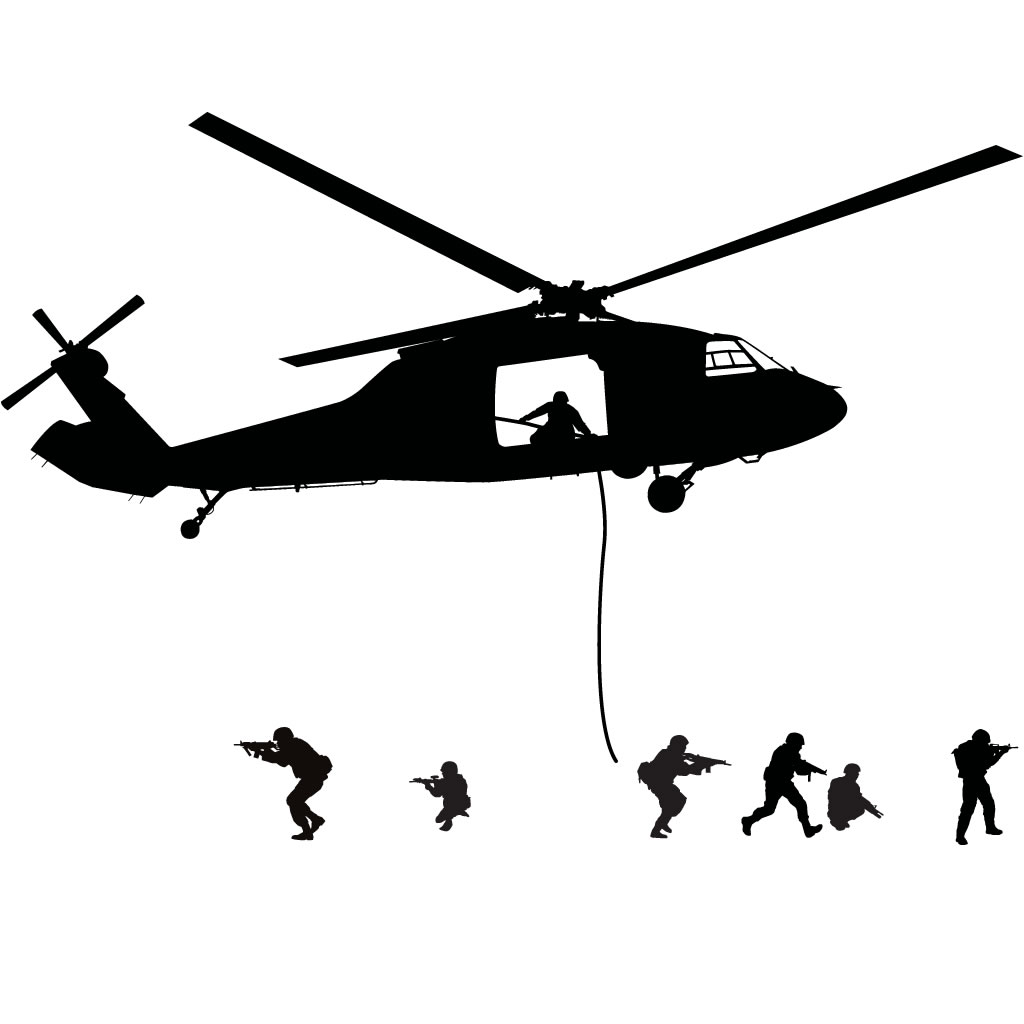 Army Helicopter Silhouette | Clipart Panda - Free Clipart ...