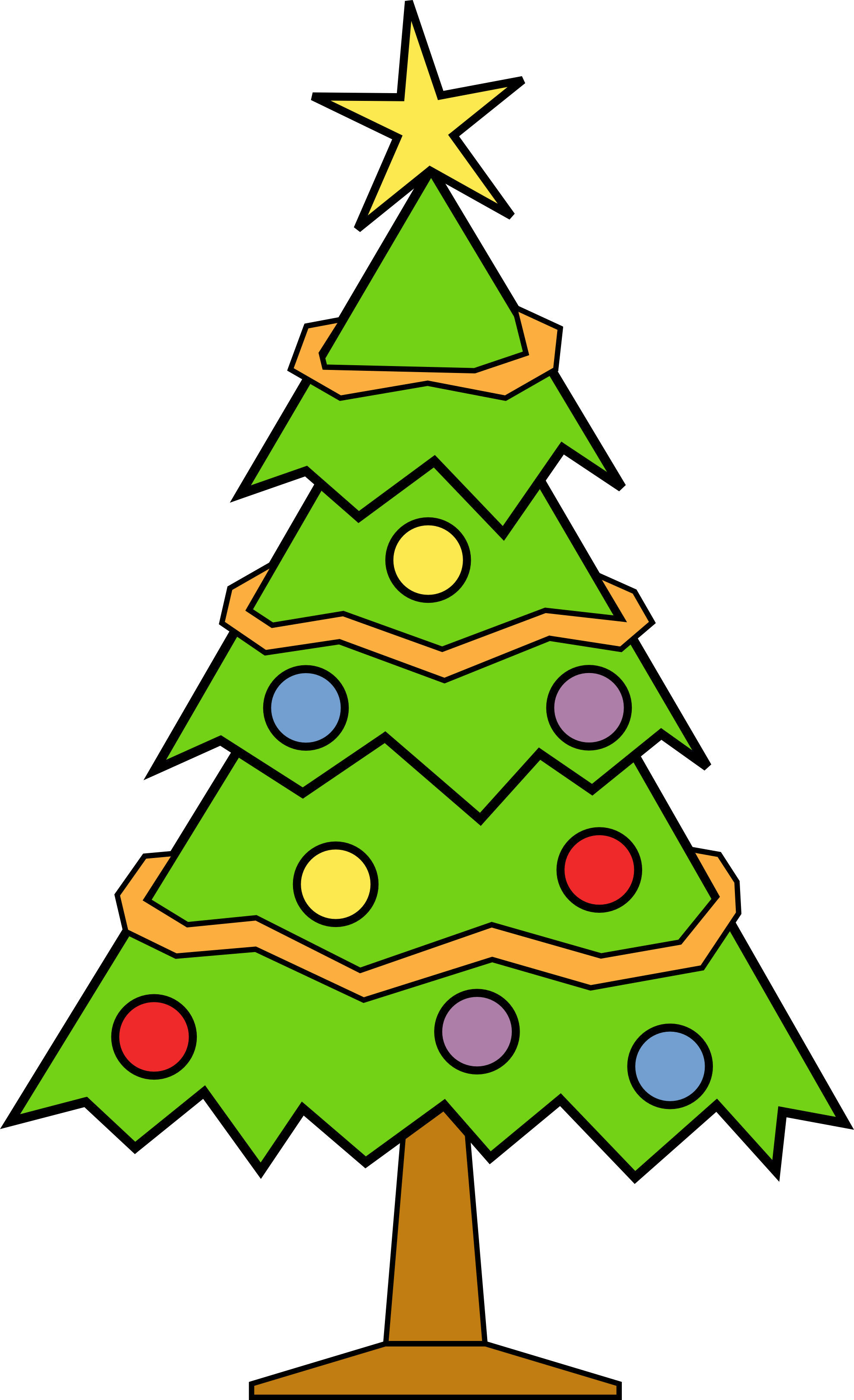 Christmas Tree Pictures clipart christmas tree | clipart panda - free clipart images