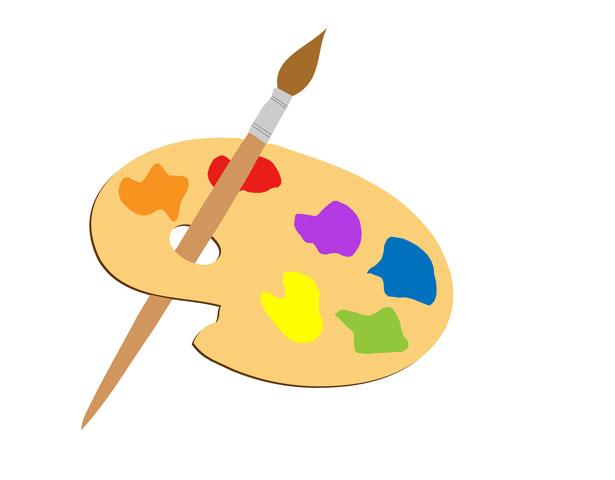 Art Palette Clip Art | Clipart Panda - Free Clipart Images