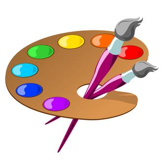 paint palette clip art - photo #17