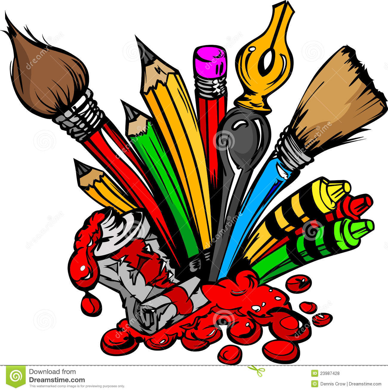 Art materials tools and equipment images