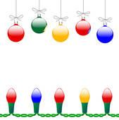 Christmas Decoration Clipart Borders Single