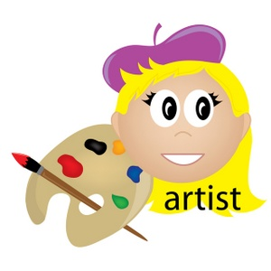 Female Artist Clipart | Clipart Panda - Free Clipart Images